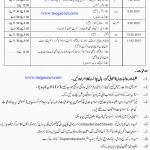 Punjab Examination Commission 8th Class Date sheet 2012