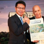 Mission Hill's Ken Chu (left) and Lan Kwai Fong's Allan Zeman.